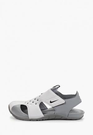 Сандалии Nike Boys Sunray Protect 2 (PS) Preschool Sandal. Цвет: серый