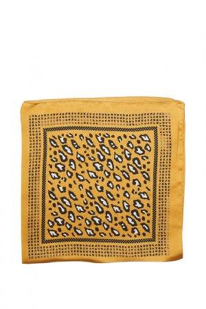 Платок Fiona Fantozzi. Цвет: желтый