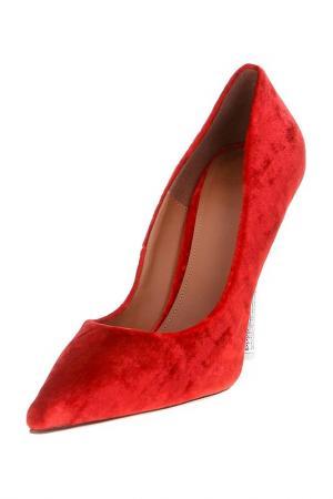 Туфли VETEMENTS. Цвет: красный