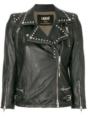 Байкерская куртка Orion S.W.O.R.D 6.6.44. Цвет: чёрный