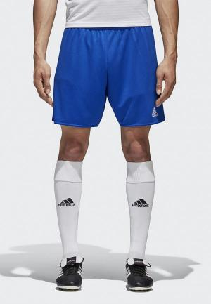Шорты спортивные adidas PARMA 16 SHO. Цвет: синий