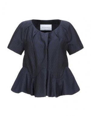 Пиджак VIKTOR & ROLF. Цвет: темно-синий