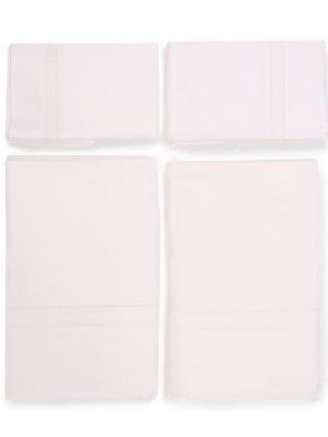 Комплект постельного белья FRETTE. Цвет: бежевый