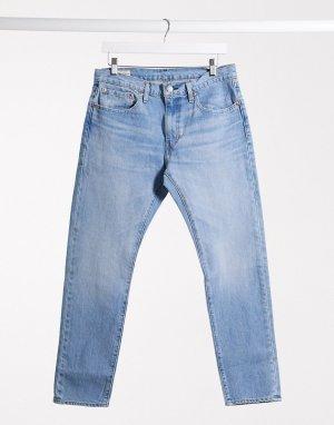 Суженные книзу светлые джинсы в винтажном стиле Levis 512-Синий Levi's
