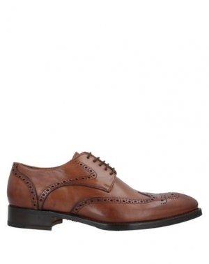 Обувь на шнурках CALPIERRE. Цвет: желто-коричневый