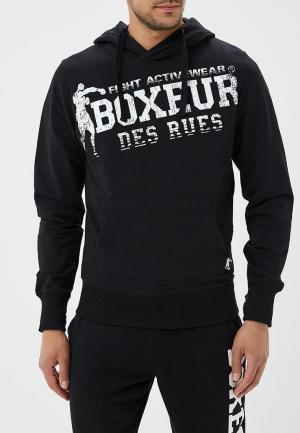 Худи Boxeur Des Rues. Цвет: черный