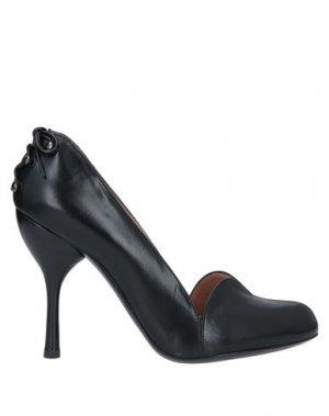 Туфли EMPORIO ARMANI. Цвет: черный