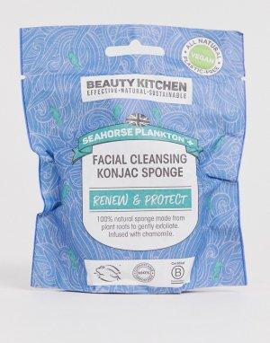 Очищающий спонж конняку для лица Beauty Kitchen