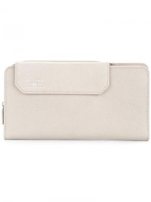 Удлиненный бумажник Shrink As2ov. Цвет: серый