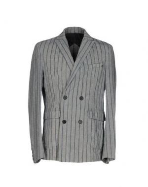 Пиджак PEOPLE LAB.. Цвет: серый