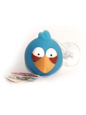 Гель-желе для душа  синяя птица Джей, 70 мл ANGRY BIRDS. Цвет: синий