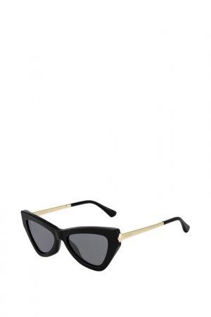 Солнцезащитные очки Jimmy Choo. Цвет: черный