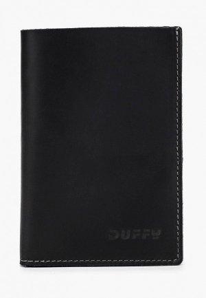Обложка для документов Duffy. Цвет: черный