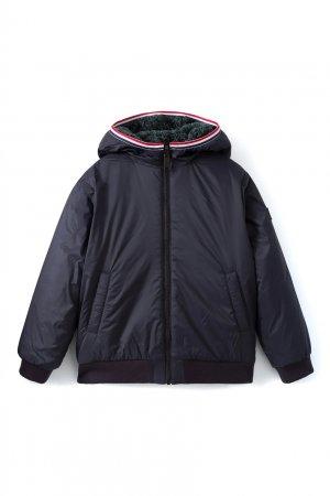 Двухсторонняя куртка Pablo Bonpoint. Цвет: синий