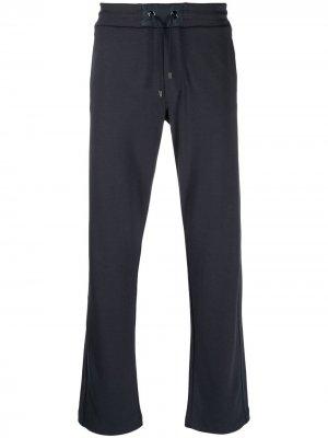 Спортивные брюки с кулиской Bogner. Цвет: синий