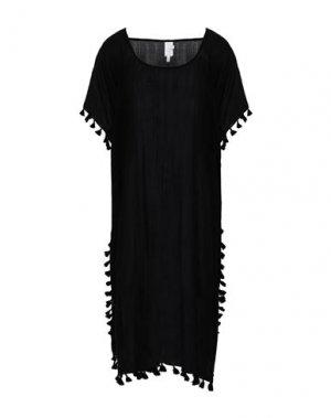 Пляжное платье SEAFOLLY. Цвет: черный