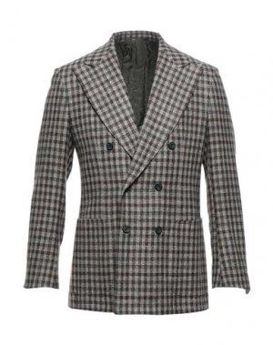 Пиджак SARTORIO. Цвет: голубиный серый