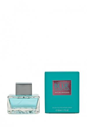 Туалетная вода Antonio Banderas Blue seduction Woman 50 мл. Цвет: белый