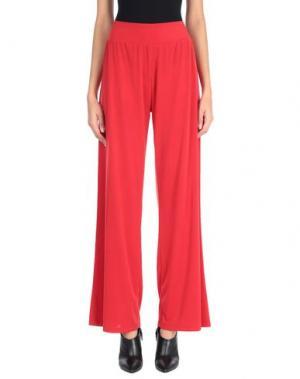 Повседневные брюки CLUB VOLTAIRE. Цвет: красный