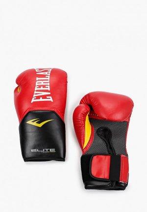 Перчатки боксерские Everlast Elite ProStyle. Цвет: красный