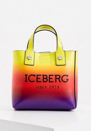 Сумка Iceberg. Цвет: разноцветный