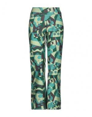 Повседневные брюки BINI Como. Цвет: зеленый