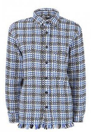 Рубашка DESTIN. Цвет: синий