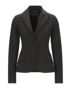 Пиджак BETTY BLUE. Цвет: темно-коричневый