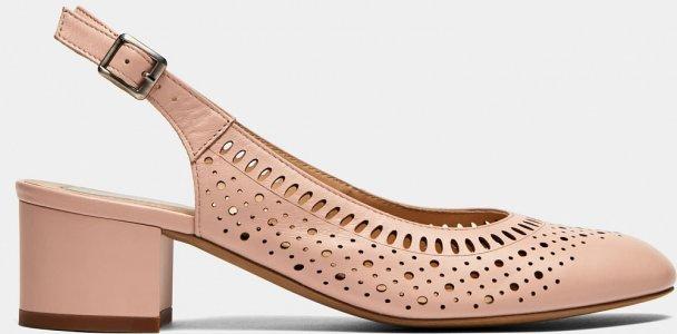 Туфли открытые Ralf Ringer. Цвет: розовый