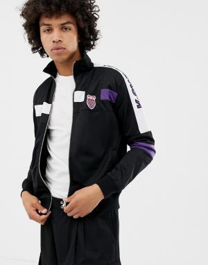 Черная спортивная куртка Oakland-Черный K-Swiss