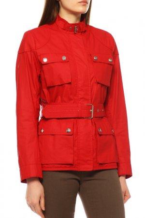Куртка-ветровка Love Moschino. Цвет: красный 098