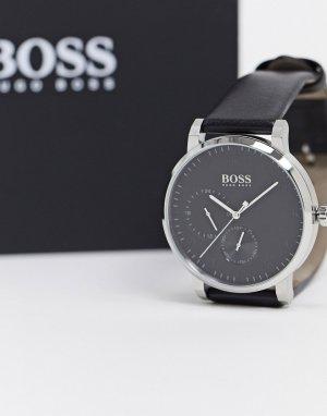 Наручные часы с черным ремешком Boss-Черный BOSS