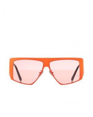Солнечные очки PHILIPP PLEIN. Цвет: оранжевый