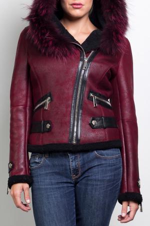 Куртка Giorgio. Цвет: red and black