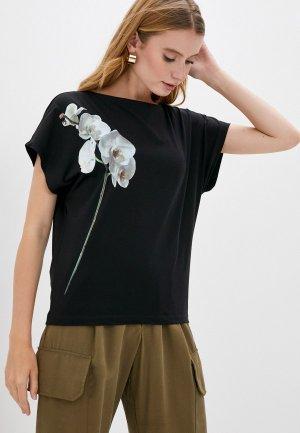 Блуза Vilatte. Цвет: черный