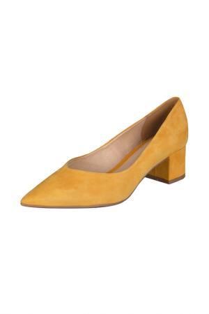 Туфли Bottero. Цвет: желтый