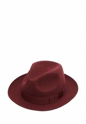Шляпа Christys. Цвет: бордовый