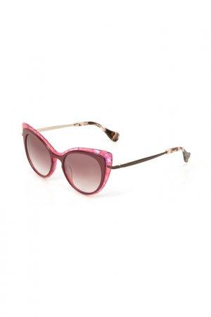 Очки солнцезащитные Enni Marco. Цвет: красный, розовый