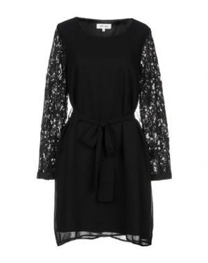 Короткое платье DRY LAKE.. Цвет: черный