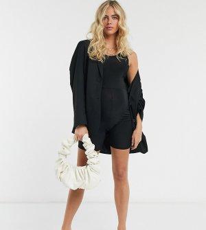 Черный юнитард -Черный цвет Fashionkilla Maternity
