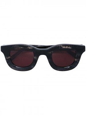 Солнцезащитные очки Rhodeo из коллаборации с Rhude Thierry Lasry. Цвет: черный