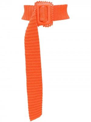 Трикотажный пояс MSGM. Цвет: оранжевый