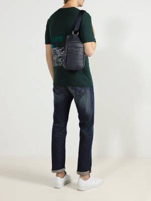 Мужская сумка Cerruti 1881. Цвет: temno_siniy