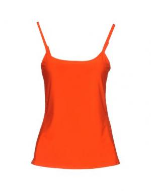Майка JOSEPH RIBKOFF. Цвет: оранжевый