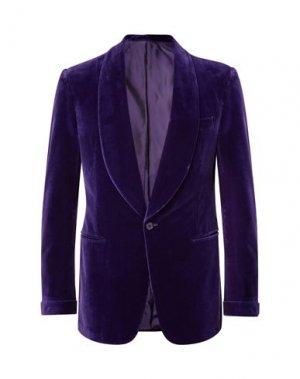 Пиджак RALPH LAUREN PURPLE LABEL. Цвет: фиолетовый