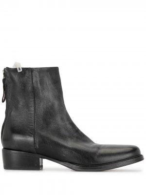 Ботинки Panosh на блочном каблуке Premiata. Цвет: черный