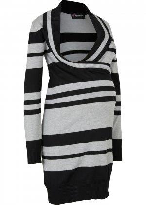 Платье для кормящих мам bonprix. Цвет: черный