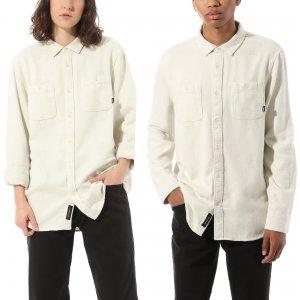 Лонгслив Kyle Walker Long Sleeve Buttondown Shirt VANS. Цвет: белый