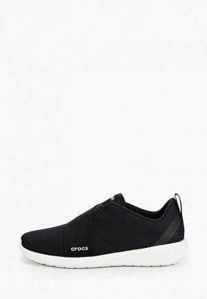 Кроссовки Crocs. Цвет: черный