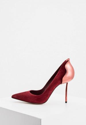 Туфли Le Silla. Цвет: бордовый